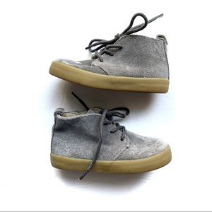 Gap Boy's Toddler Grey Suede Ankle Booties